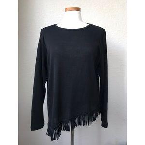 Asymmetrical Tassel Sweater